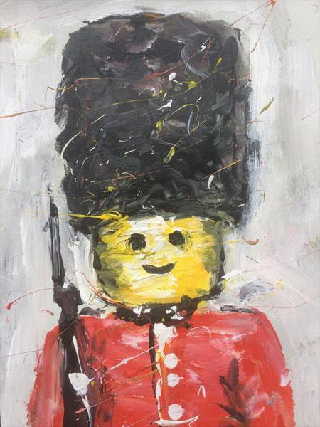 Lego Queens Guard by Alex Arnell