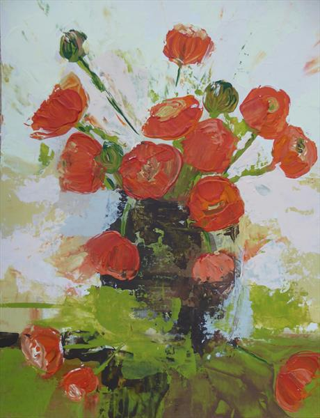 Persian Buttercups by Elaine Allender