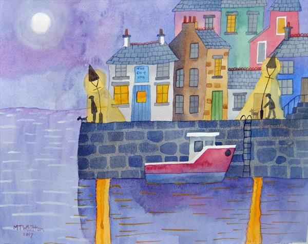 Harbour Moon by Martin Whittam