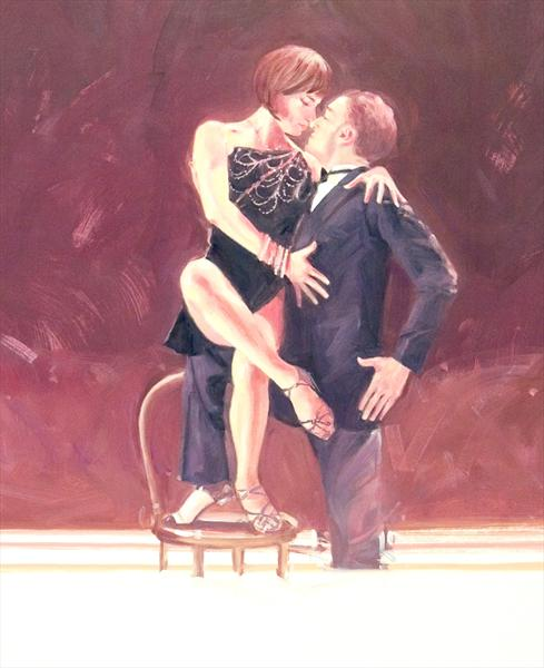 Midnight Tango (Oil Study 5) by Charles Willmott