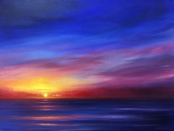 Blue Reverie VII by Stella Dunkley