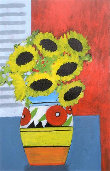Sunflowers by Jan Rippingham
