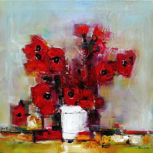 You with poppies by Ioan Popei
