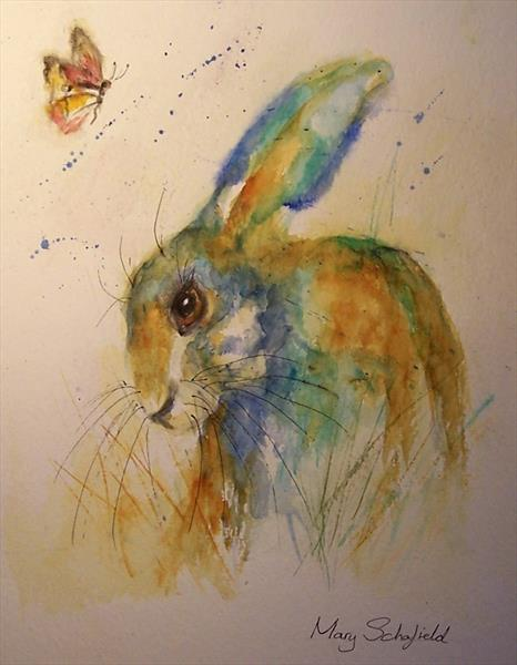 Hare 21 by Mary Schofield