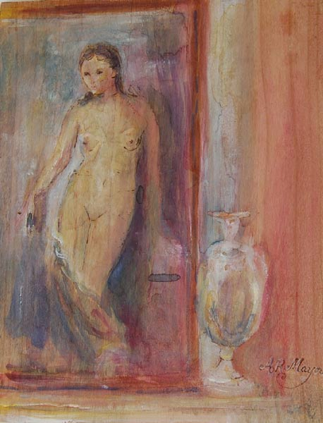 Grecian Urn by Alison Mayor