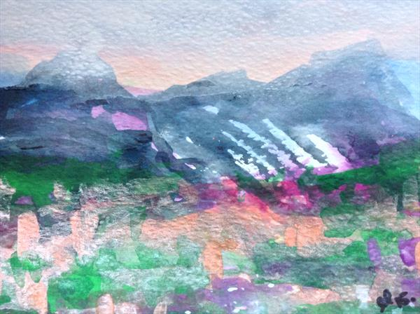 Beneath the three sisters of Glencoe  by Gwen Fleming