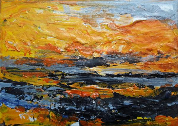 Where sky meets land by Teresa Tanner