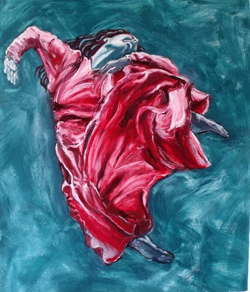 Dancer in Red by Peter King