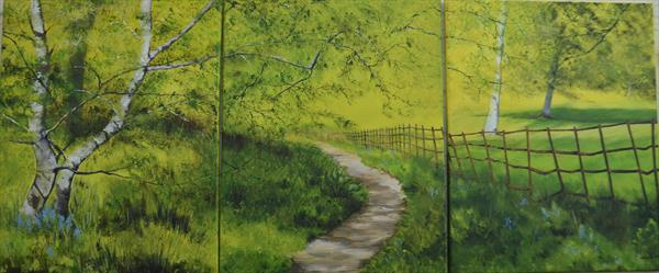 A Peaceful Walk by Margaret Jarvis