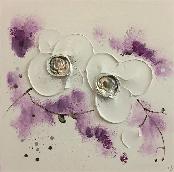 Orchids - Plums/Purples by Kerry Bowler