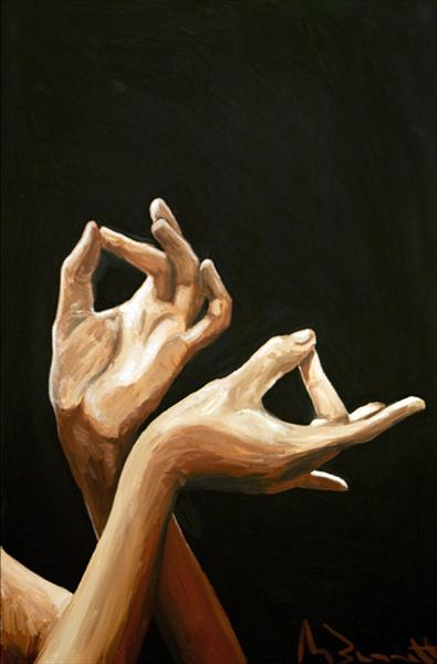 Flamenco Hands 2 by Mark Bennett