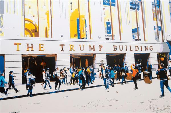 The hustle and bustle of Manhattan - The Trump Building by Kris  Mercer