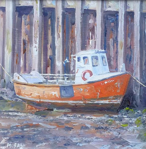 The Orange Boat by Michael Salt