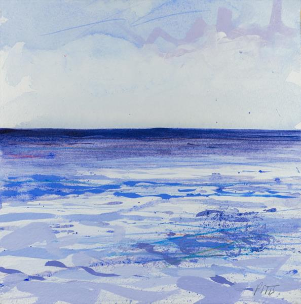 Out to sea, Birling Gap no.2 by Jonathan Pitts