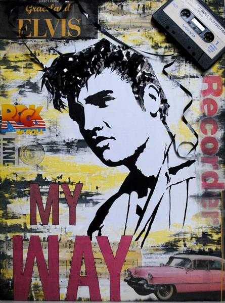 ELVIS - My WAY by George  Stir