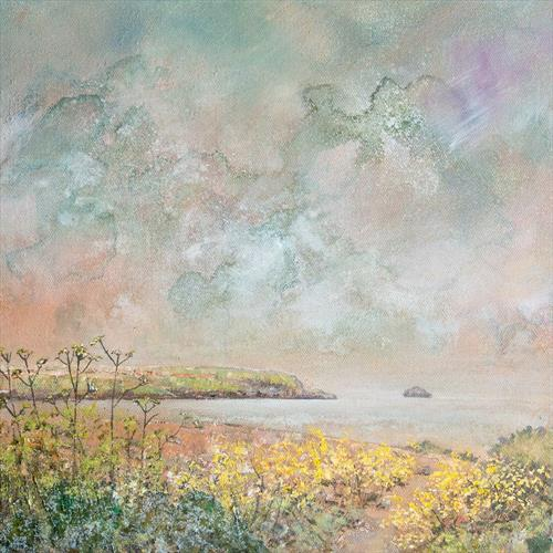 Spring along the Camel Estuary by Diane Griffiths