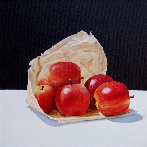 Apples by David Fright