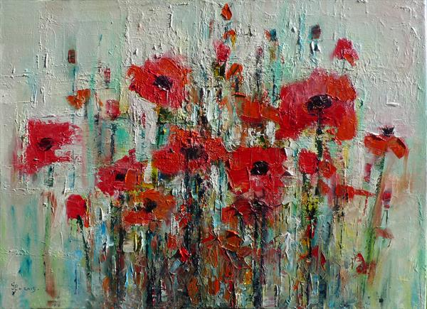 Poppies by Ioan Popei