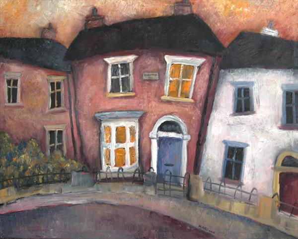 Commissioned painting - Cottage in Shrewsbury