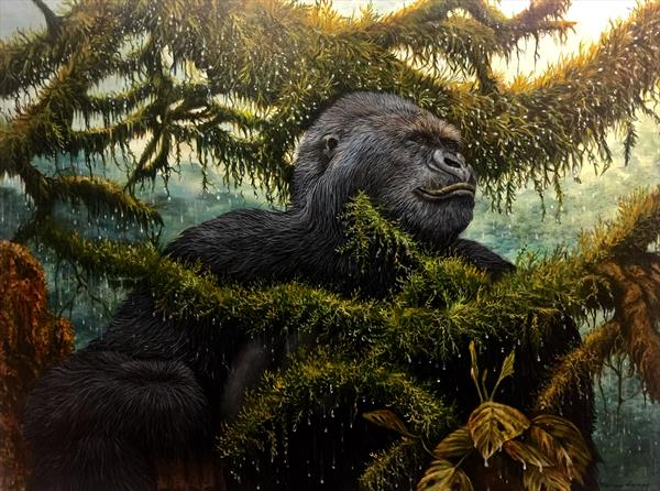 Silverback by Dennis Hussey