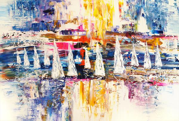 Sailing Impressions XL 1 by Peter Nottrott