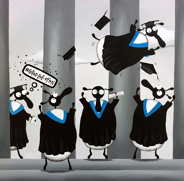 Grad-ewe-ation by Mervyn Tay
