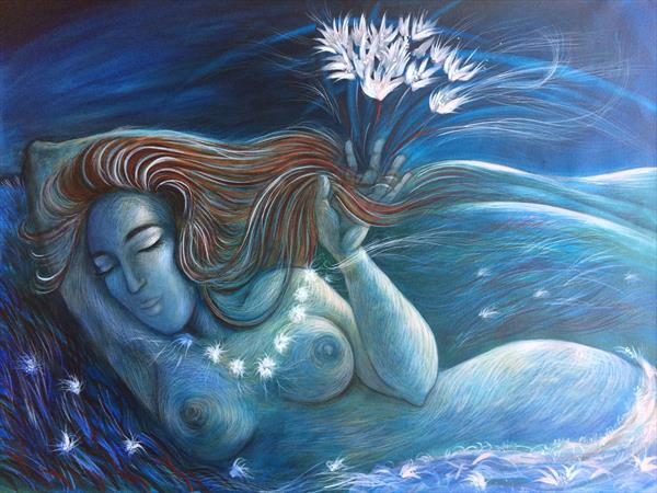 Nocturne ~ in the Blue Night by Phyllis Mahon
