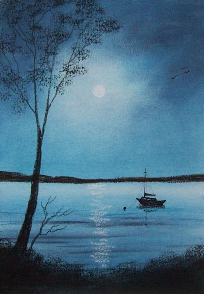 The Moonlit Boat by Patricia Richards