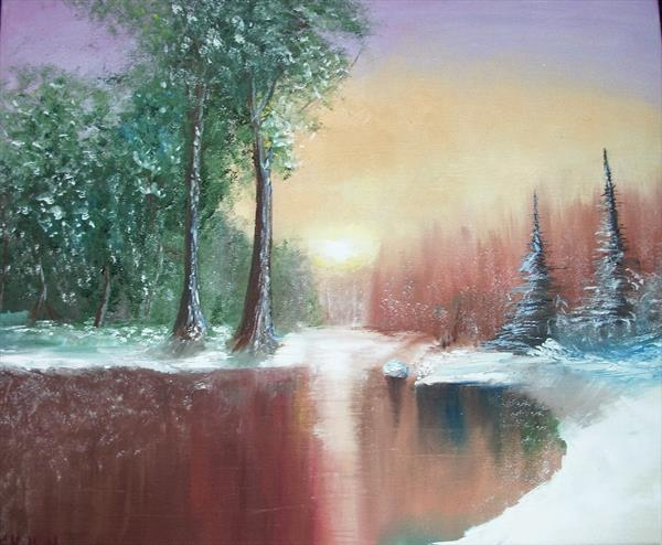 Winter fading  by Svetlana Kellett
