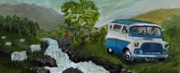 A DAY OUT WITH THE BEDFORD by JOHN MURPHY