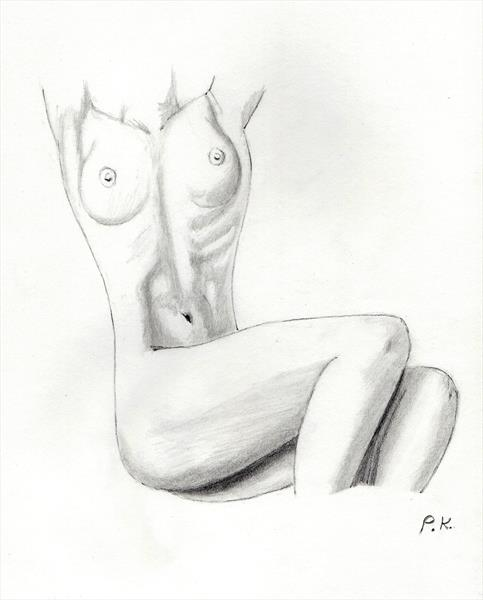 Nude 5 by Philip Kendrew