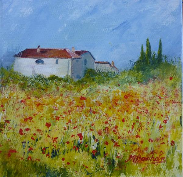 French Farmhouse by Margaret Denholm