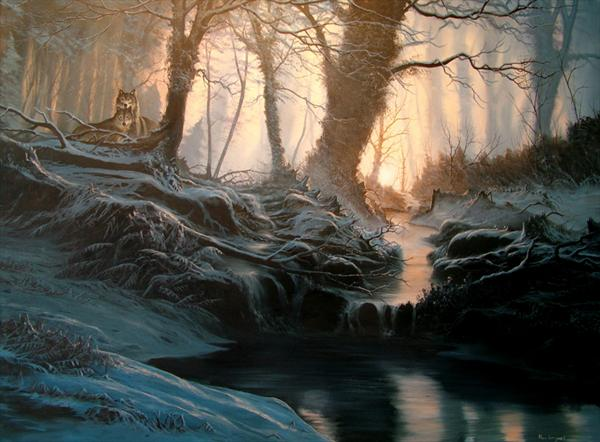 Ancient Woodland by Alan Kingwell