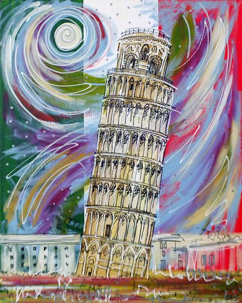 The Leaning Tower by Laura Hol
