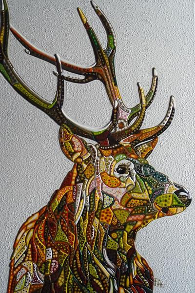 Abstract Deer 14 (Sculptural)