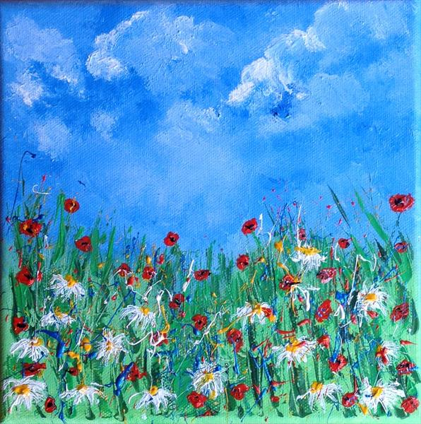 Poppies & Daisies by Tina Hiles