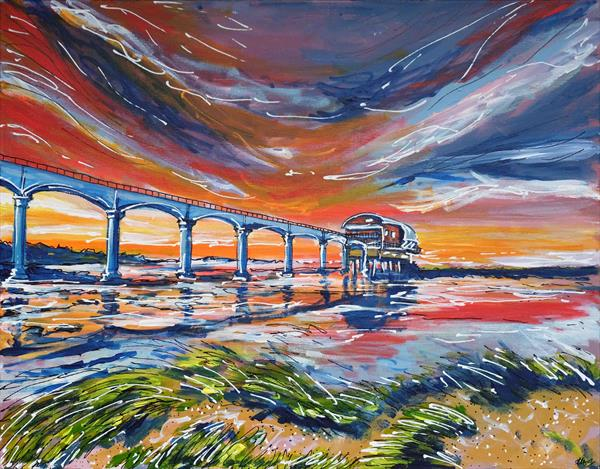 Piering at Bembridge by Laura Hol