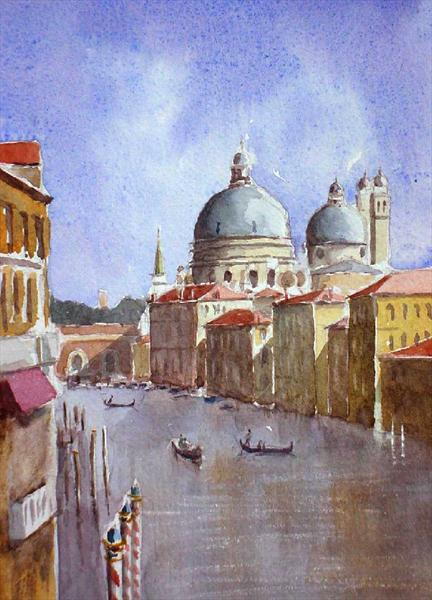 View From the Academia Bridge, Venice by Mike Livesey