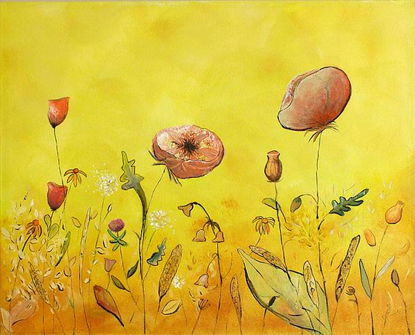 August Meadow by Tracey Unwin