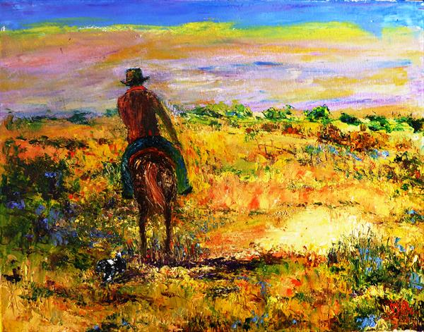 High Plains Drifter by Mary Ann Day