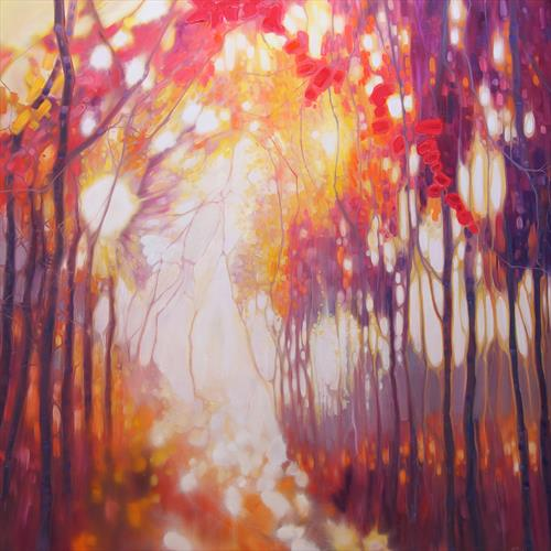 Seeking the Light Limited Edition Print by Gill Bustamante