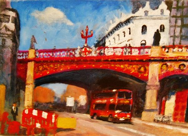 Holborn Viaduct by Will Smith
