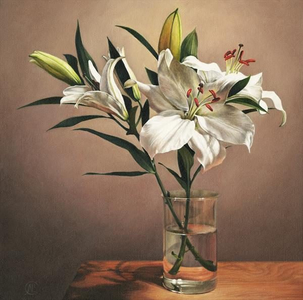 The Lillies by Natalia Beccher