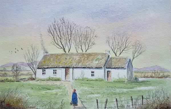 Cottage in Co. Donegal by Eric Hattrell