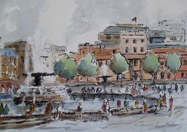 Trafalgar Square by Gerry Ludlow