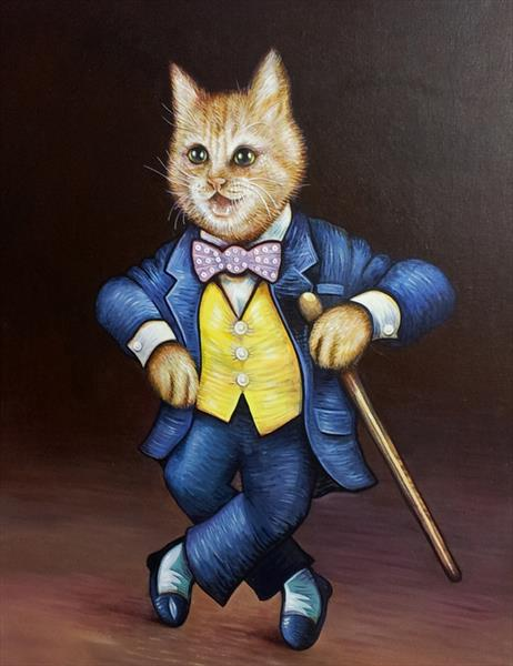 The Incredible Dancing Cat  by Sam Westwood