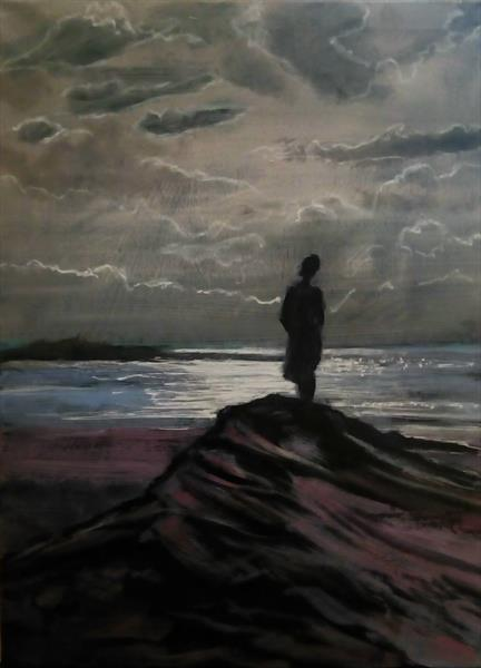 Simple solitude by daryl tipping