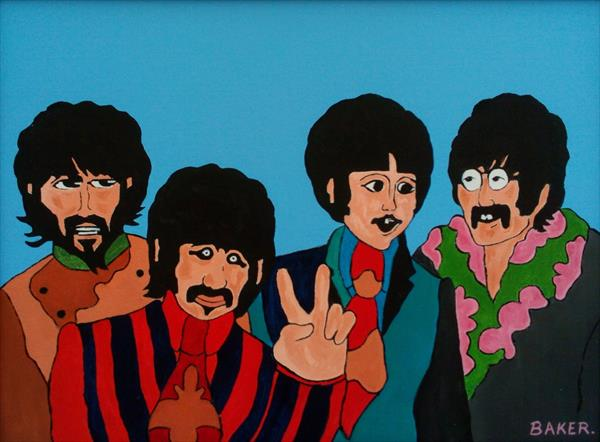 THE BEATLES - YELLOW SUBMARINE by Tommy Baker