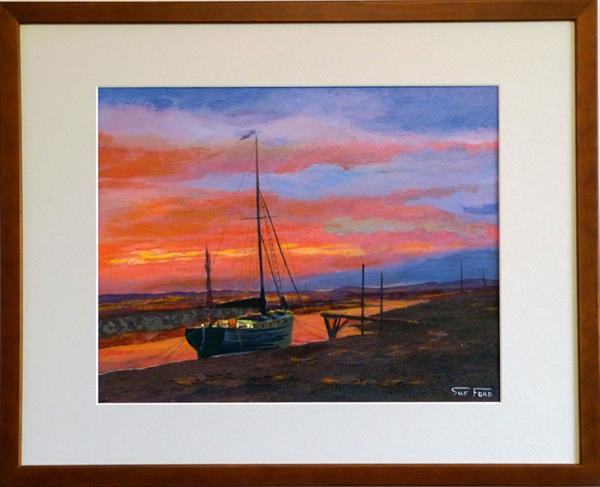 Blakeney Sunset by Susan Ford