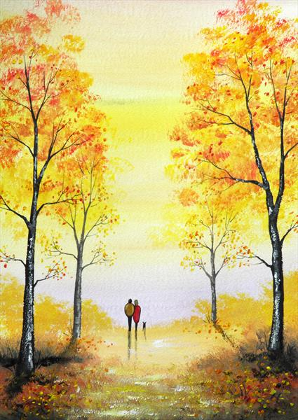 Autumn Day by Sarah Featherstone